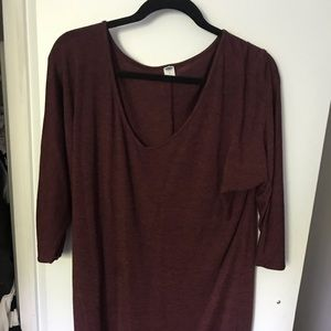 Old Navy dolman sleeve dress